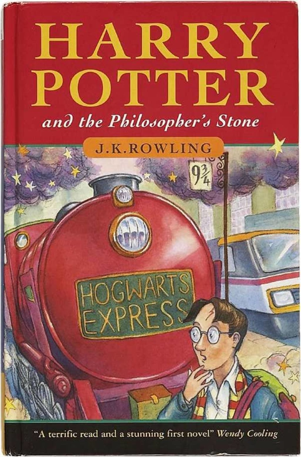 Collector's items, such as early editions of Harry Potter, are highly sought after online.