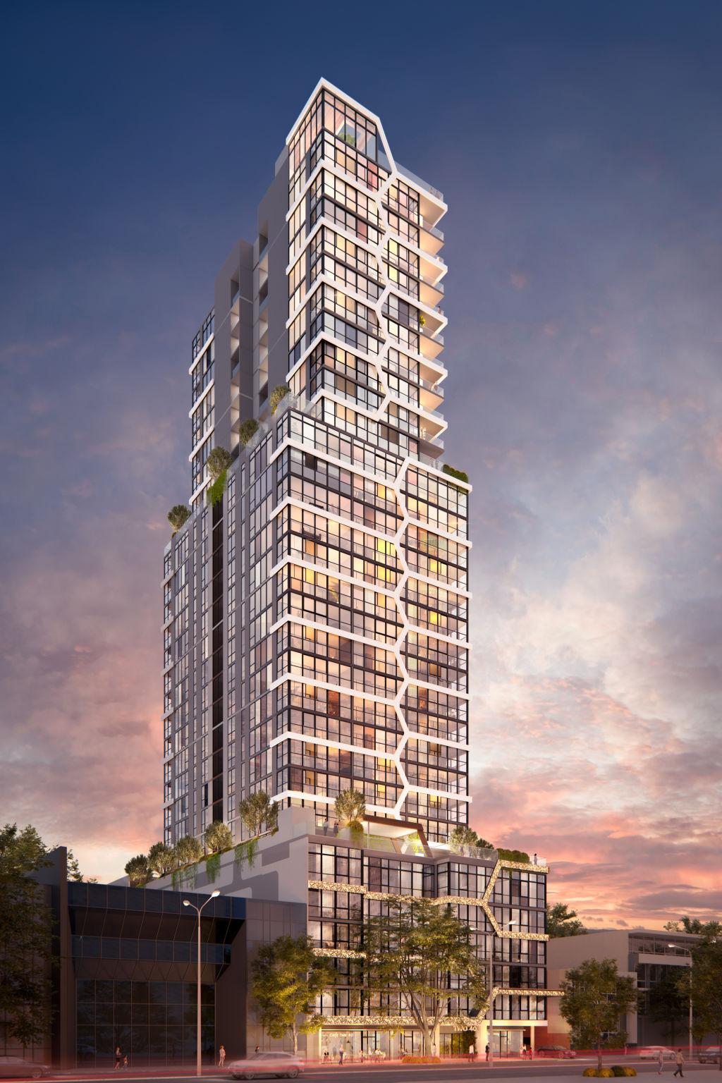 Finbar_Adelaide Terrace development Perth