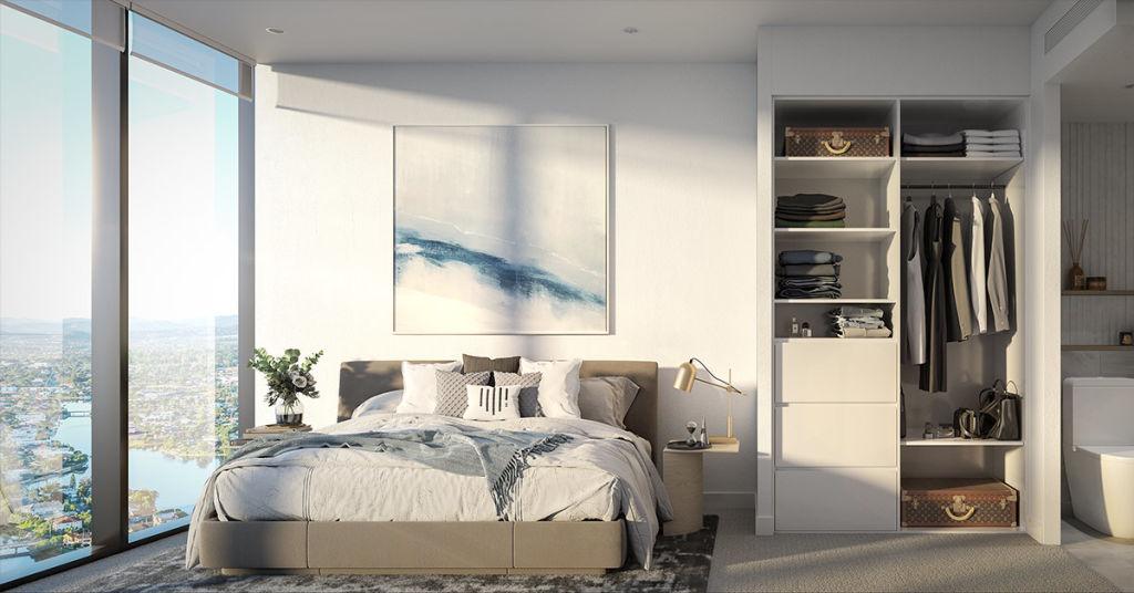 Star Residences Broadbeach_Bedroom render_July 2020