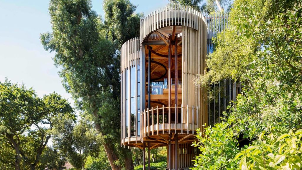 The House Paarman treehouse was designed by Malan Vorster.