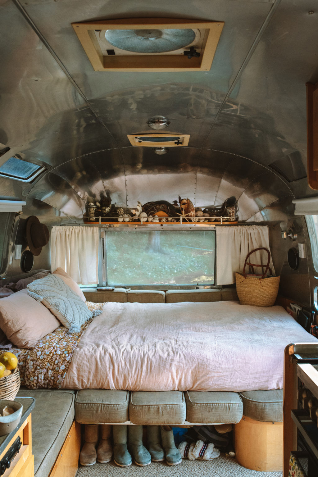 Airstream in Coledale