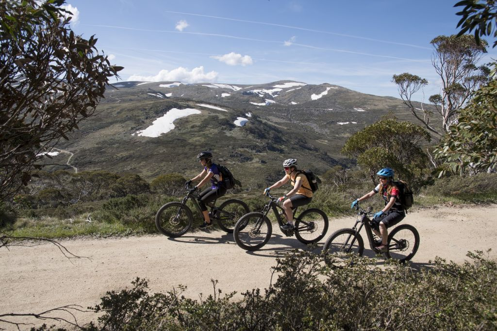 Home away from home: Thredbo Three Huts Guided Electric Bike Tour