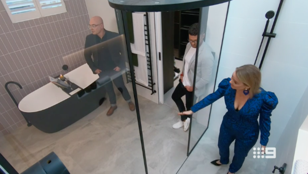 The Block 2020 Master Ensuite Room Reveals 20th Sept Episode.