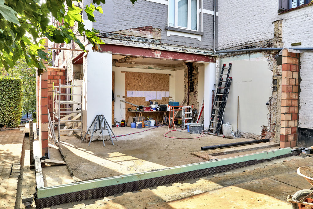 Major renovations involve large quantities of materials and countless trades, so a detailed quote is critical.
