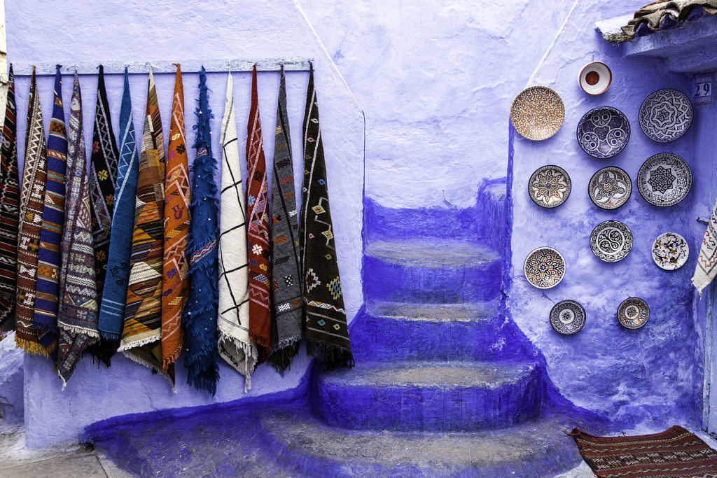 House entrance in Chefchaouen