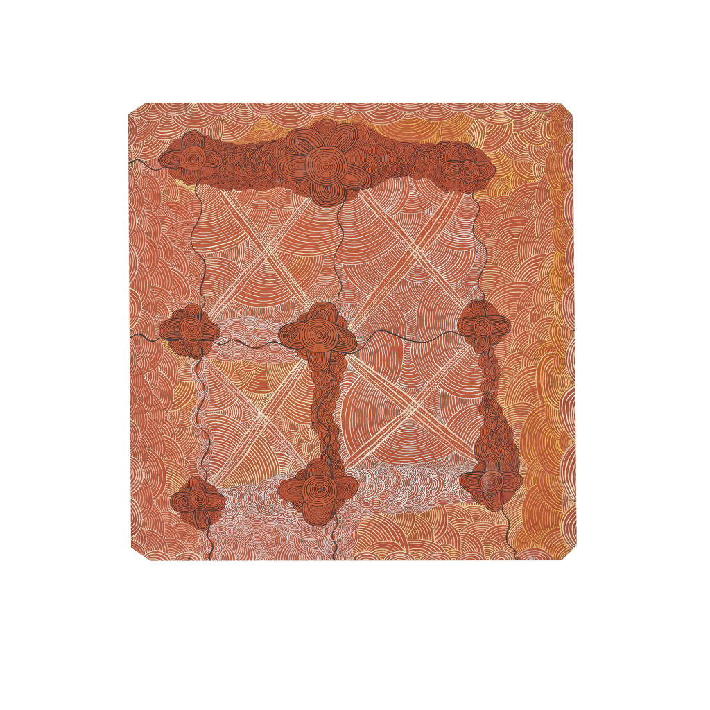Long Jack Philipus Tjakamarra, Untitled - supplied by Bonham Auction