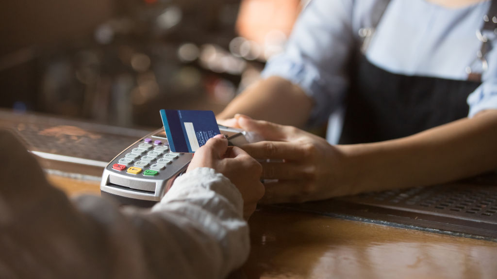 Contactless payment options, while convenient, make it easier to spend money.