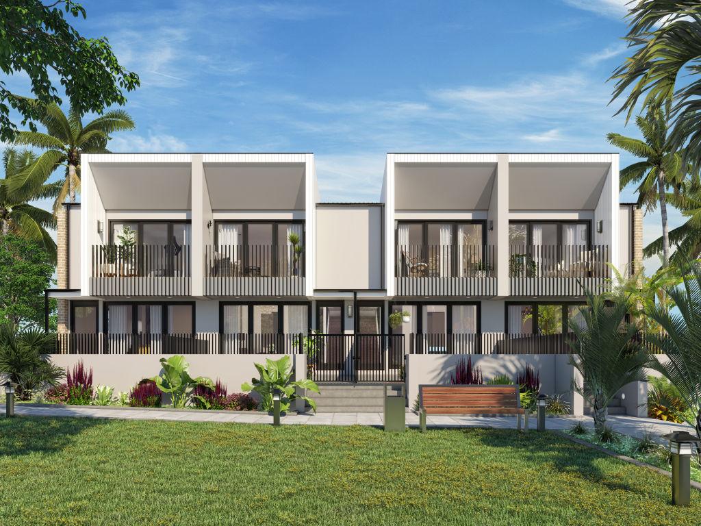 Cameron Grove Estate_Emerald townhome render