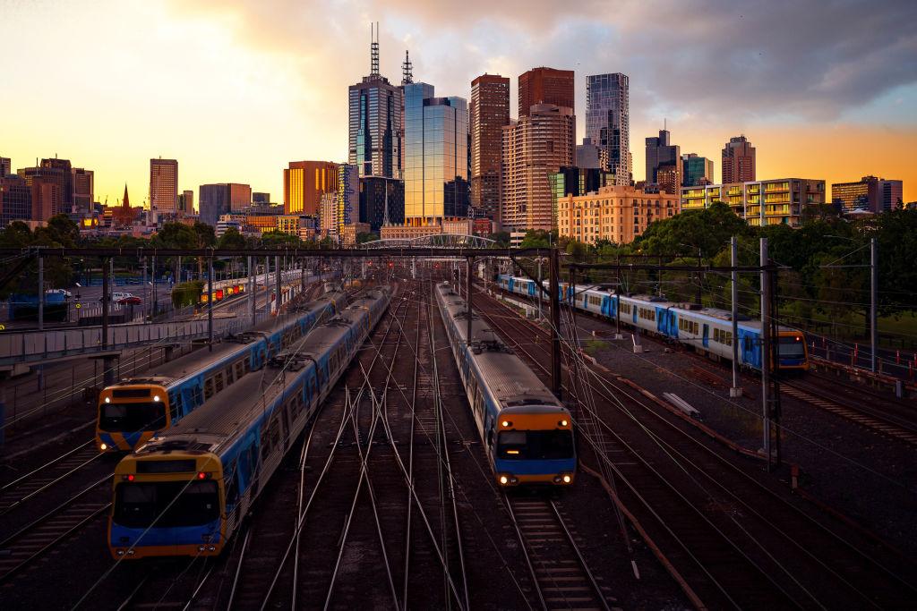melbourne-trains