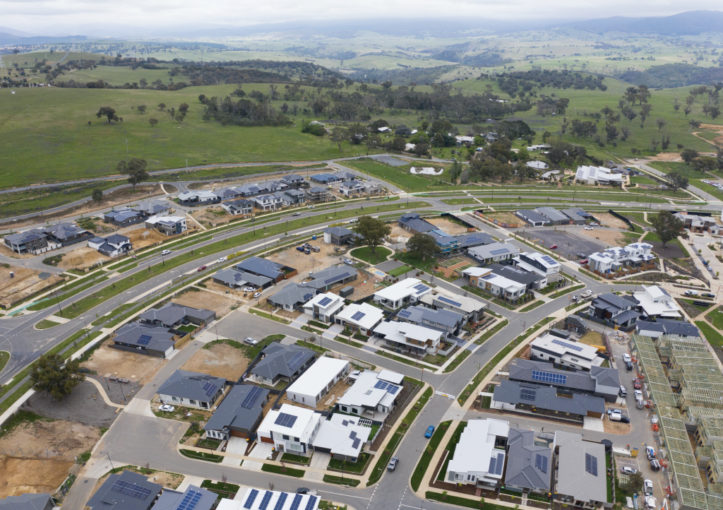 Ginninderry, ACT_Aerial