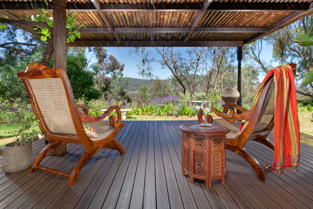 Composite decking boards create the look of timber without the ongoing maintenance.