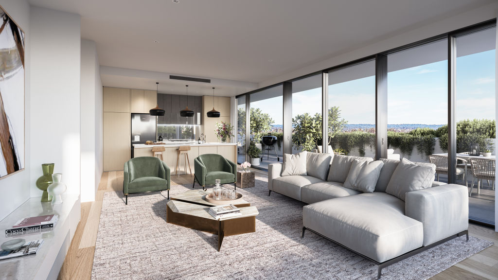 Proximity Rouse Hill_Living render