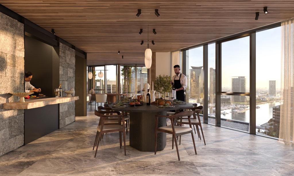 Seafarers Residences 713 Flinders Street, Docklands Architect: Fender Katsalidis Developer: Riverlee