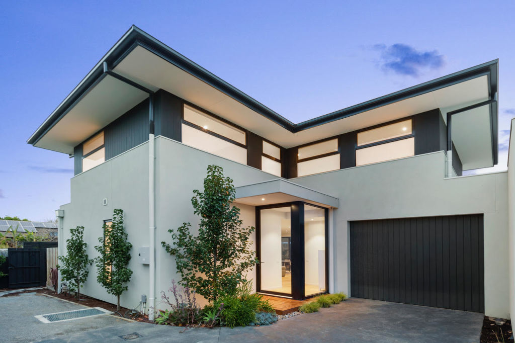 Cody O'Gorman wanted to create a modern family home that would have broad appeal when it came time to sell.