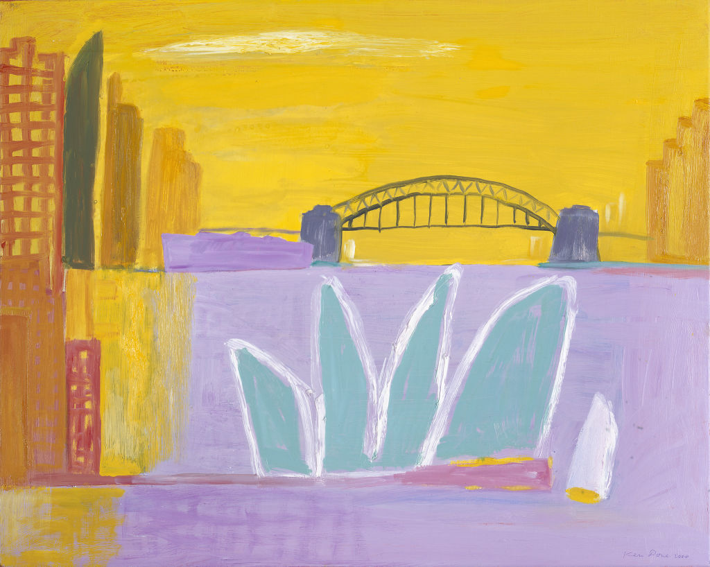 Jade Opera, yellow sky, 2000