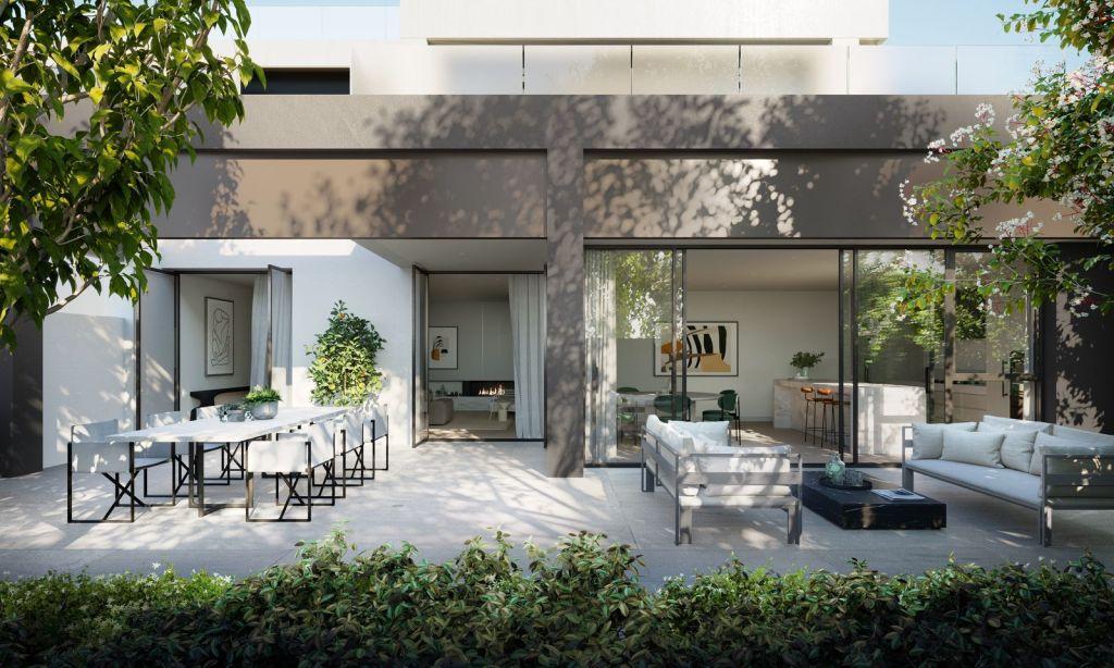 Hive Properties_The Gratis_Courtyard render