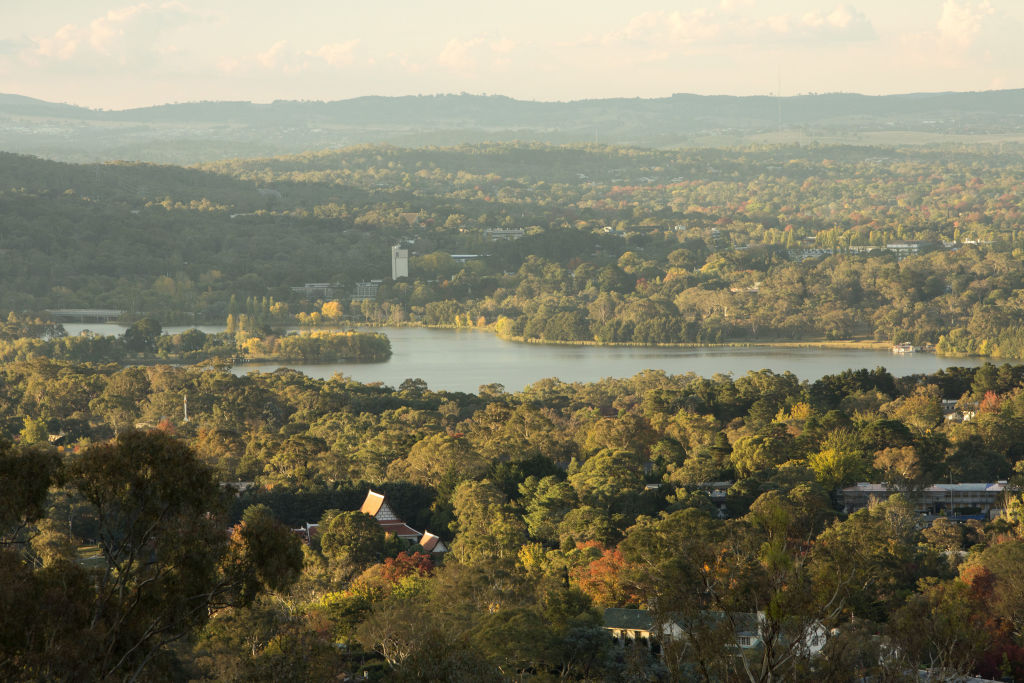 Red Hill lookout, Canberra
