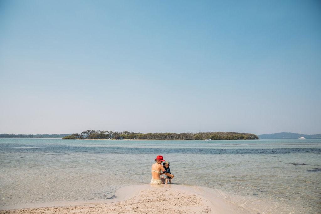 Lake Macquarie Sand Island