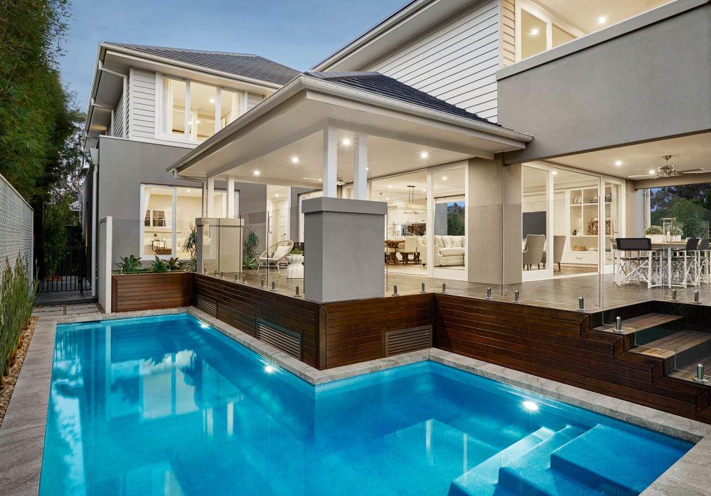 Metricon Bayville home design_Pool