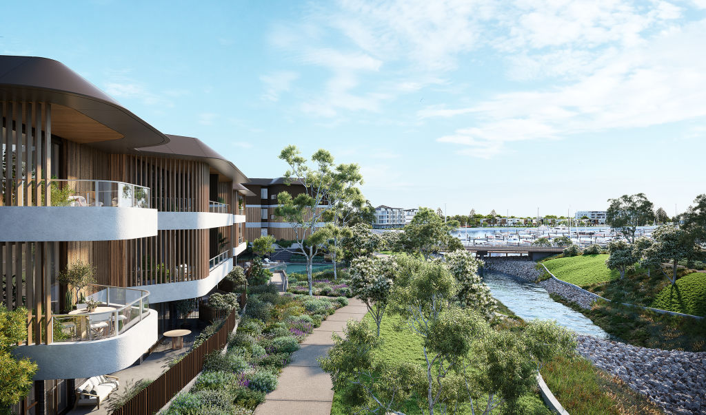 Frasers Property_The Waterfront Shell Cove_Ancora_May 2021_Exterior render