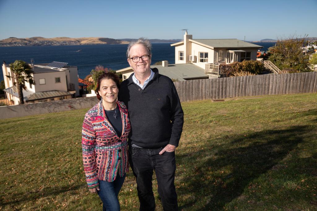 Urban planner Professor Peter Phibbs and retired associate professor Daphne Habibis live in the pleasant city of Hobart.
