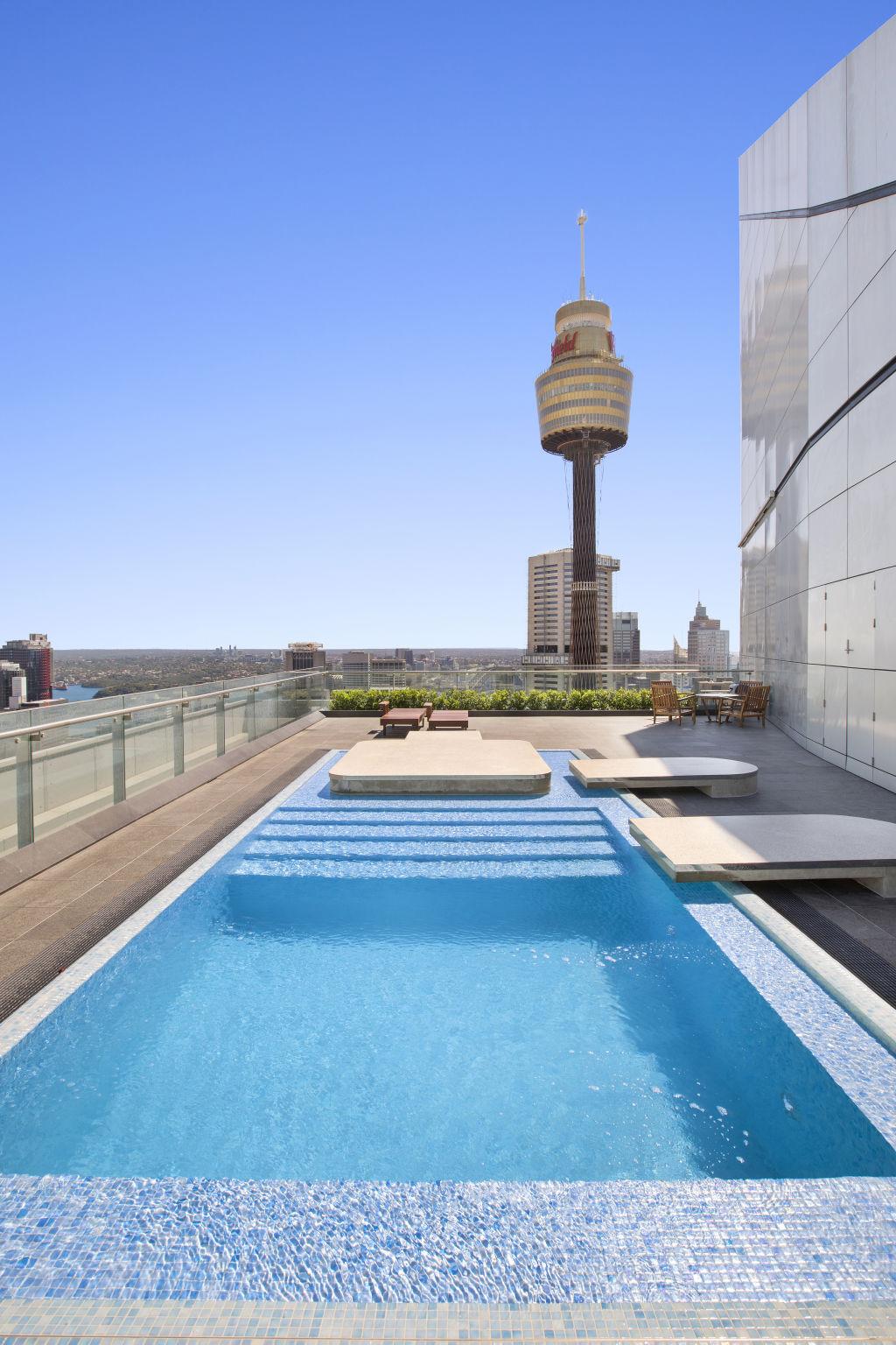 John Boyd penthouse atop the ANZ Tower