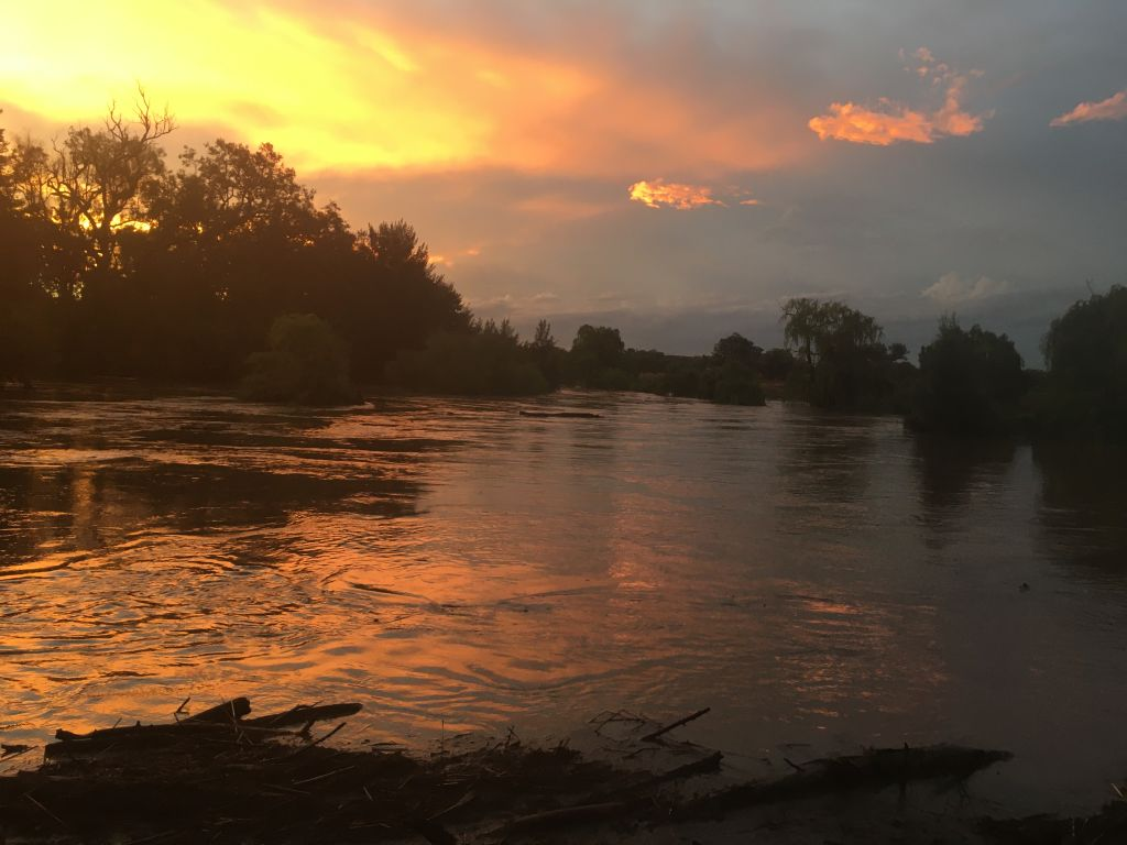 The Castlereagh River. Escape to Binnaway.