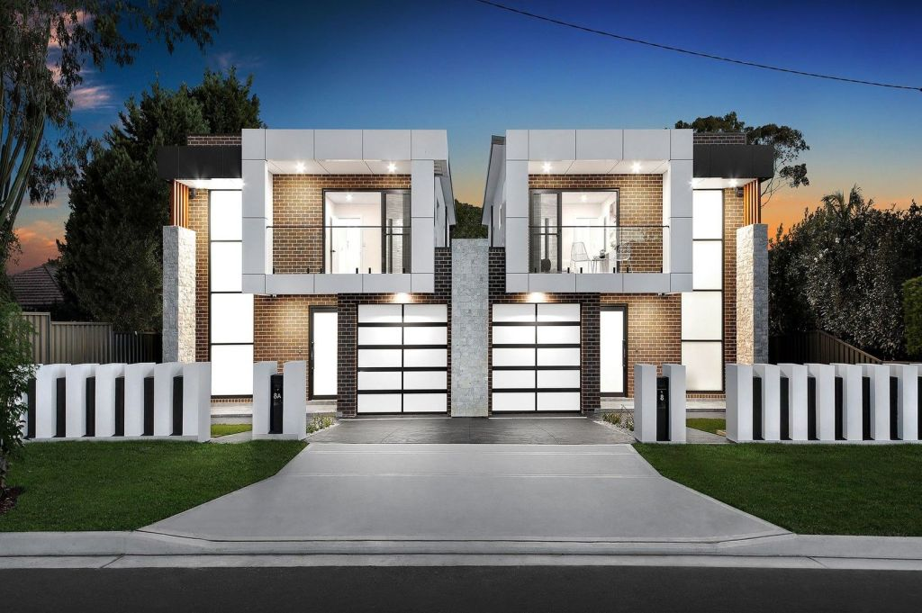 Duplex developments typically require large, wide lots.