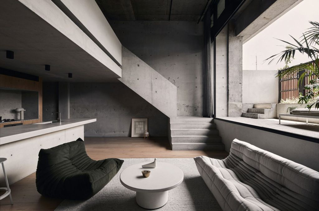 The Studio Goss inner Melbourne apartment is in the running in the Apartment Interiors category. Dezeen Awards.