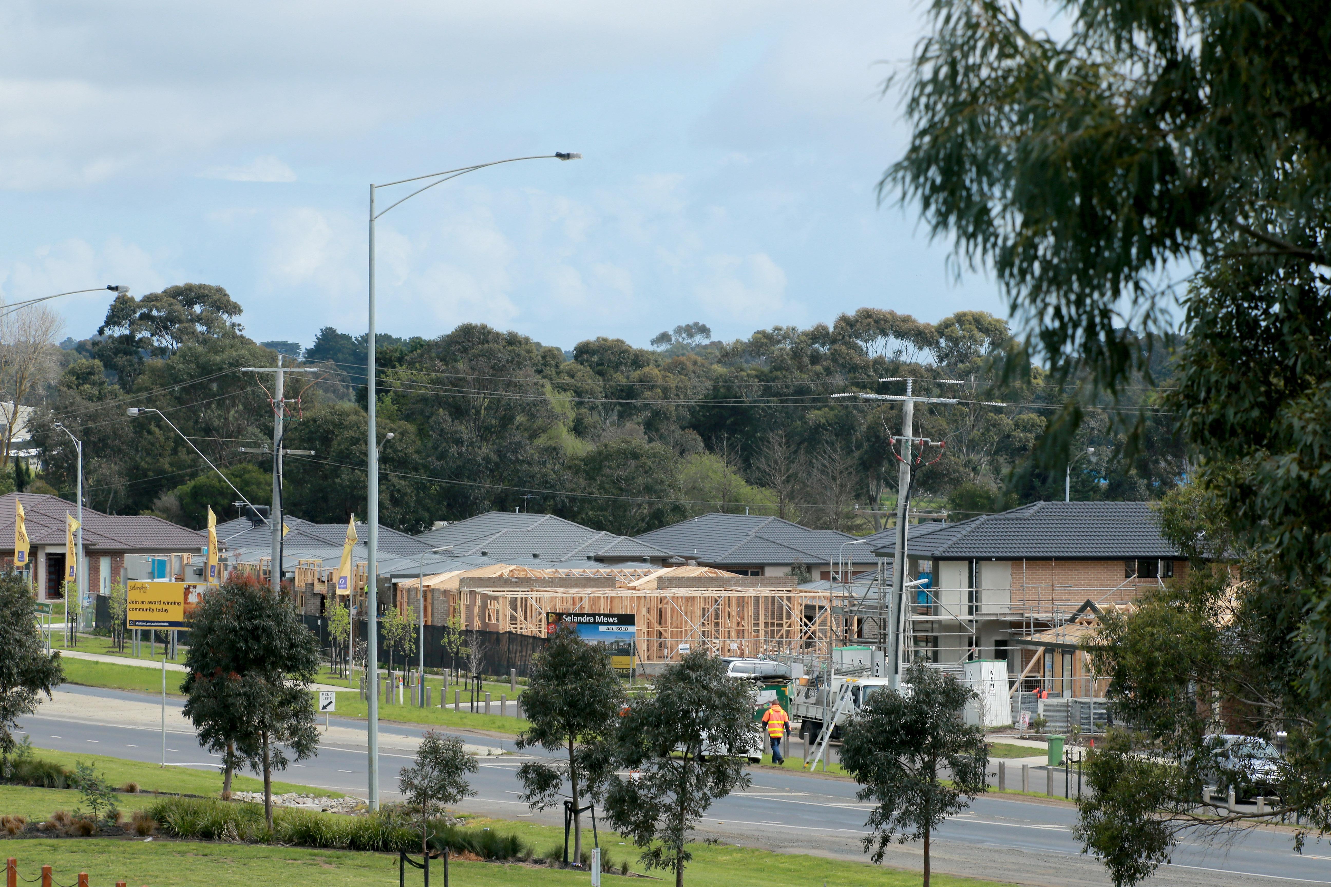 Housing boom Melbourne