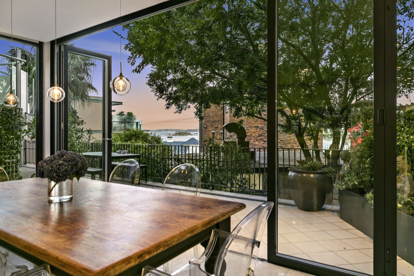 Apartments with large outdoor areas prove popular.