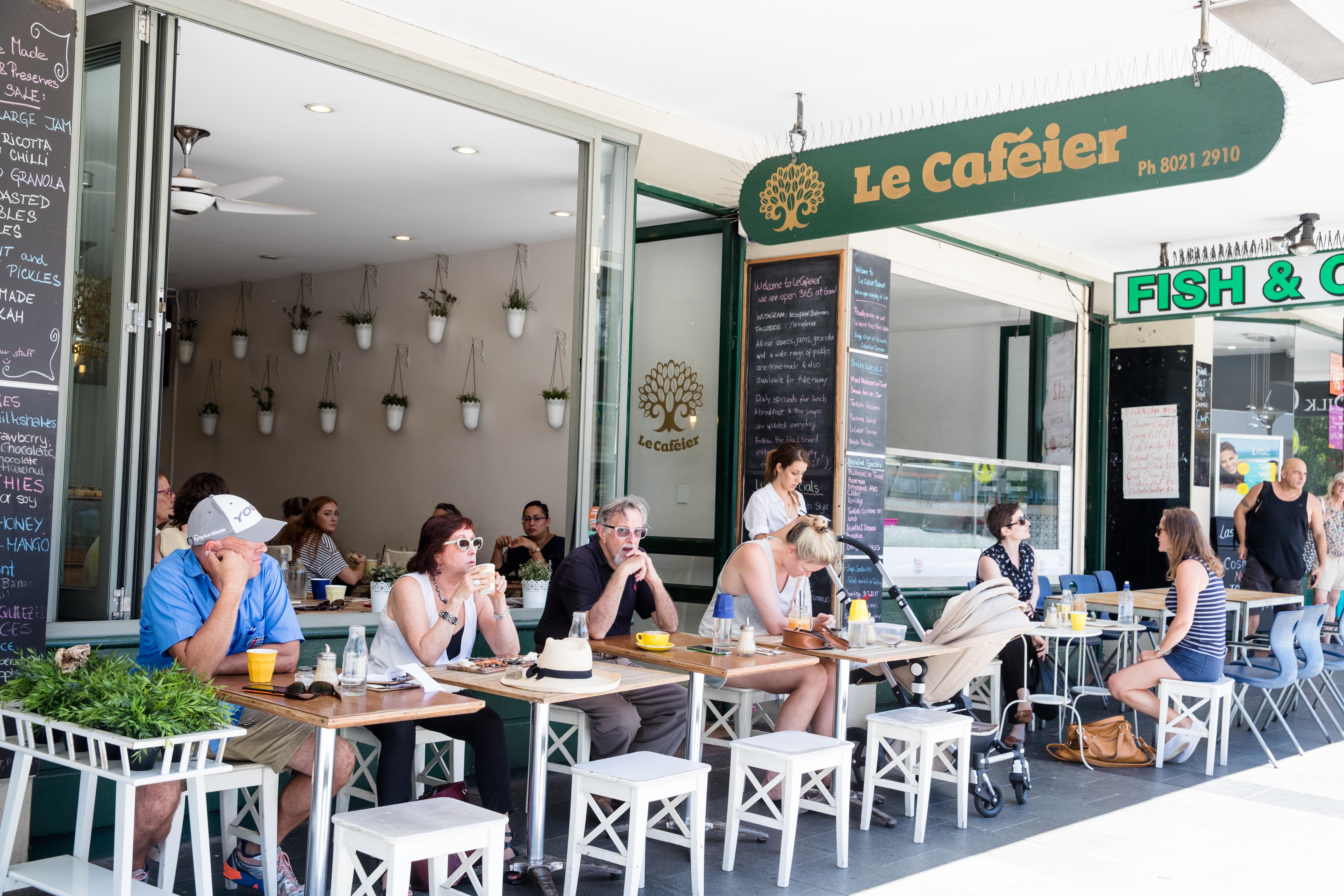 Le Cafeier in Balmain