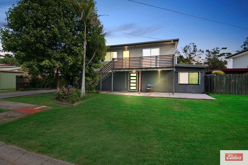 Another four-bedroom home at 15 Batehaven Street, Loganholme, is up for sale for offers over $400,000.