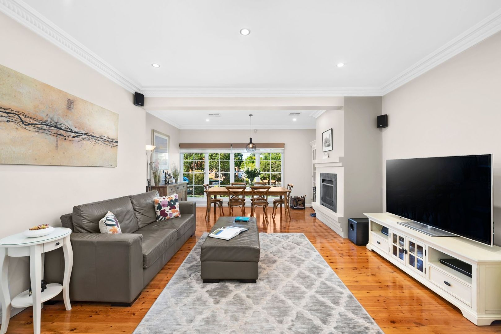 A young couple upgrading from an apartment in the Inner West forked out $2.27 million for 61 Hinkler Crescent, Lane Cove.